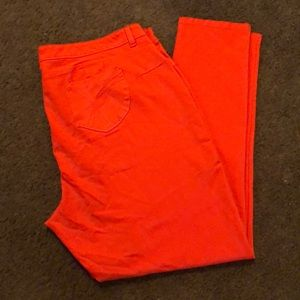 Shinestar Orange Stretch Butt Lifting Jeggings